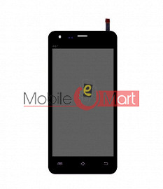 Lcd Display With Touch Screen Digitizer Panel For Micromax A67 Bolt