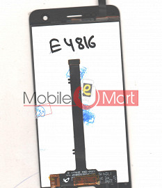 Lcd Display With Touch Screen Digitizer Panel For Micromax Dual 4 E4816