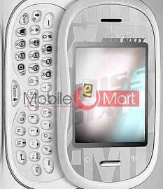 Back Panel For Alcatel Miss Sixty 2009