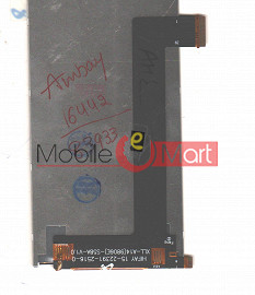 Lcd Display With Touch Screen Digitizer Panel For Intex Cloud Glory 4G