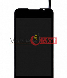 Lcd Display With Touch Screen Digitizer Panel For Intex Aqua 3G