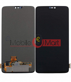 Lcd Display With Touch Screen Digitizer Panel For OnePlus 6 (BLACK)