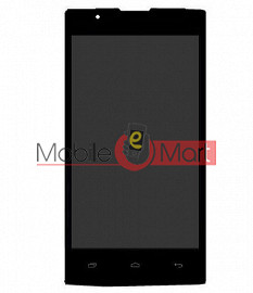 Lcd Display With Touch Screen Digitizer Panel For Intex Aqua 3G Strong