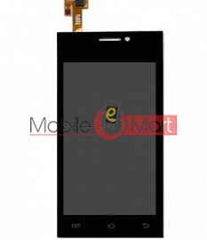 Lcd Display With Touch Screen Digitizer Panel For Intex Aqua Y2