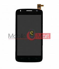 Lcd Display With Touch Screen Digitizer Panel For Micromax A105 Canvas Entice