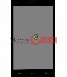 Lcd Display With Touch Screen Digitizer Panel For Intex Aqua 4x
