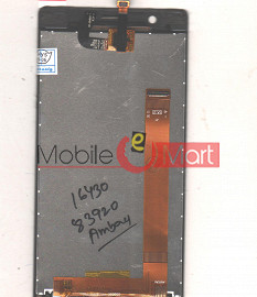 Lcd Display With Touch Screen Digitizer Panel For Lava Iris Icon