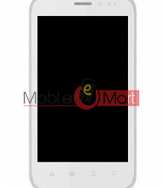 Lcd Display With Touch Screen Digitizer Panel For Intex Aqua Flash