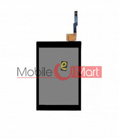 Lcd Display With Touch Screen Digitizer Panel For Spice M(5916)