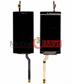 Lcd Display With Touch Screen Digitizer Panel For Micromax Canvas 6