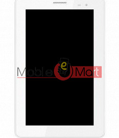Lcd Display With Touch Screen Digitizer Panel For Lava E(Tab Ivory)