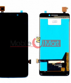 Lcd Display With Touch Screen Digitizer Panel For Spice Stellar Mi(520n)