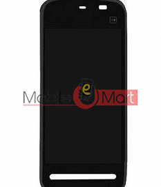 Lcd Display With Touch Screen Digitizer Panel For Nokia 5235 Comes With Music