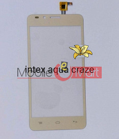 Touch Screen Digitizer For Intex Aqua Craze 2
