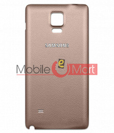 Back Panel For Samsung Galaxy Note 4