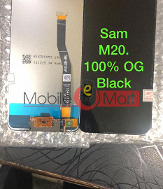 Lcd Display With Touch Screen Digitizer Panel For Samsung Galaxy M20