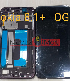 Lcd Display With Touch Screen Digitizer Panel For Nokia 8.1 Plus