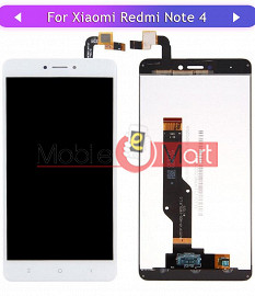 Lcd Display With Touch Screen Digitizer Panel For  Xiaomi Redmi Note 4 (Black)