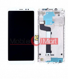 Lcd Display With Touch Screen Digitizer Panel For Xiaomi Redmi Note 5 Pro (Black)