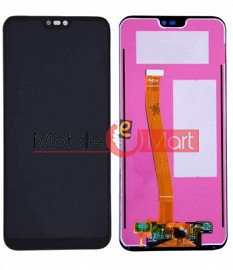 Lcd Display With Touch Screen Digitizer Panel For  Huawei P20 Lite(Black)