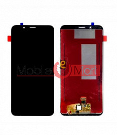 Lcd Display With Touch Screen Digitizer Panel For Huawei Y7 Prime (Black) (2018)
