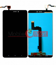 Lcd Display With Touch Screen Digitizer Panel For Xiaomi Mi Max 2 - Black