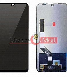 Lcd Display With Touch Screen Digitizer Panel For Xiaomi Redmi Note 7 Pro (Black)