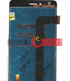 Lcd Display With Touch Screen Digitizer Panel Combo Folder Glass For Micromax Canvas 6 Pro E484(Black