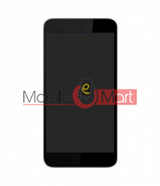 Lcd Display With Touch Screen Digitizer Panel Combo Folder Glass For Micromax Canvas Amaze Q395(Black)