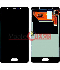 Lcd Display With Touch Screen Digitizer Panel Combo Folder Glass For Panasonic Eluga Ray - Black
