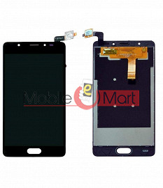 Lcd Display With Touch Screen Digitizer Panel Combo Folder Glass For Panasonic Eluga Ray X - Black
