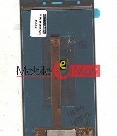 Lcd Display With Touch Screen Digitizer Panel Combo Folder Glass For Micromax Canvas Nitro 3 E352 (Black)