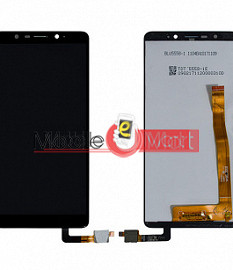 Lcd Display With Touch Screen Digitizer Panel Combo Folder Glass For Micromax Canvas Infinity Life HS1 (Black