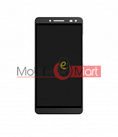 Lcd Display With Touch Screen Digitizer Panel Combo Folder Glass For Panasonic Eluga i2 (Black)