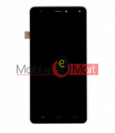 Lcd Display With Touch Screen Digitizer Panel Combo Folder Glass For Micromax Canvas Pulse 4G E451 (Black)