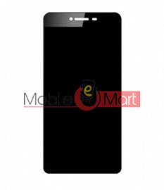 Lcd Display With Touch Screen Digitizer Panel Combo Folder Glass For Micromax Canvas Spark 4G (Black)