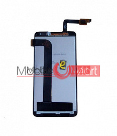 Lcd Display With Touch Screen Digitizer Panel Combo Folder Glass For Micromax A310 Canvas Nitro (Black)