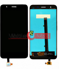 Lcd Display With Touch Screen Digitizer Panel Combo Folder Glass For Micromax Canvas Unite 4 Pro (Black)