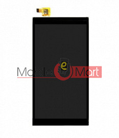 Lcd Display With Touch Screen Digitizer Panel Combo Folder Glass For Micromax Canvas Fire 4G Plus Q412 (black)