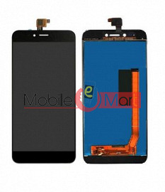 Lcd Display With Touch Screen Digitizer Panel Combo Folder Glass For Micromax Selfie 2 Q4311 (Black)
