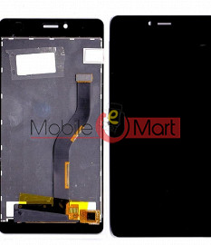 Lcd Display With Touch Screen Digitizer Panel Combo Folder Glass For Panasonic P71 - Black