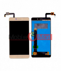 Lcd Display With Touch Screen Digitizer Panel Combo Folder Glass For Coolpad Mega 2.5D (Black)