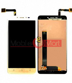 Lcd Display With Touch Screen Digitizer Panel Combo Folder Glass For Coolpad Note 5(Black)