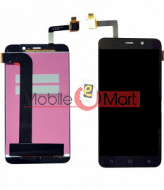Lcd Display With Touch Screen Digitizer Panel Combo Folder Glass For Coolpad Note 3 Lite 8298 (Black)