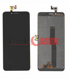 Lcd Display With Touch Screen Digitizer Panel Combo Folder Glass For IVooMi i1S - Black