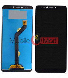 Lcd Display With Touch Screen Digitizer Panel Combo Folder Glass For Infinix Hot 6 Pro - Black