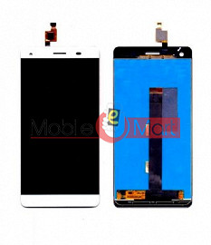 Lcd Display With Touch Screen Digitizer Panel Combo Folder Glass For Lava Pixel V1 (Black)