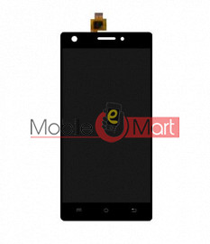 Lcd Display With Touch Screen Digitizer Panel Combo Folder Glass For Lava Pixel V2