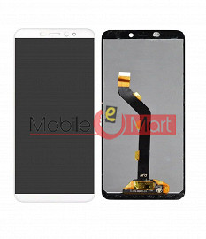 Lcd Display With Touch Screen Digitizer Panel Combo Folder Glass For Infinix Hot S3 (BLACK)