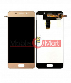 Lcd Display With Touch Screen Digitizer Panel Combo Folder Glass For Asus Zenfone 3s Max (Black)